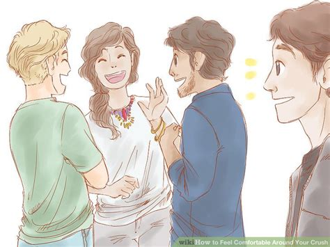 how to make a guy feel comfortable around you how to feel comfortable around your crush 11 steps