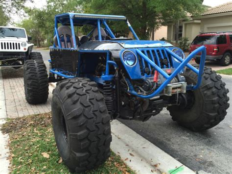 jeep rock buggy custom jeep 4x4 rock crawler