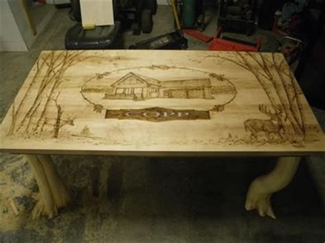 Wood Burned Table by 59 Best Images About Wood Burned On Carving