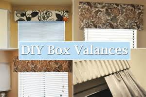Diy Window Box Valance diy project revisited box valances our foreclosure