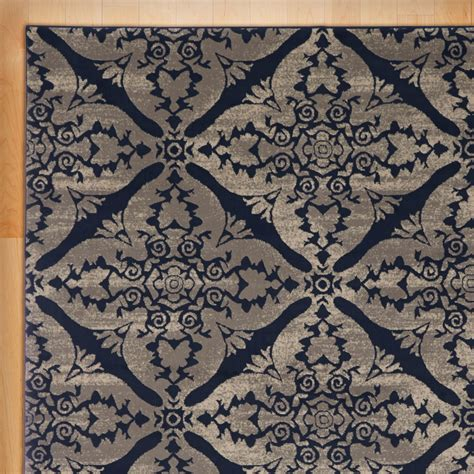 Blue Gray Area Rug Andover Mills Blue Gray Area Rug Reviews Wayfair