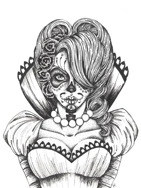 day of the dead art coloring pages day of the dead coloring pages vicky day of the dead