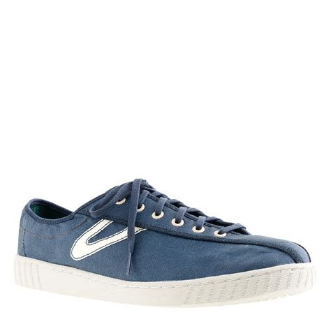 tretorn 174 for j crew waxed nylite sneakers j crew