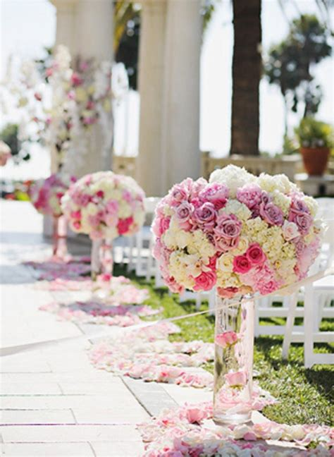 Wedding Aisle Flower Decorations by Outdoor Ceremony Aisle Decorations Archives Weddings
