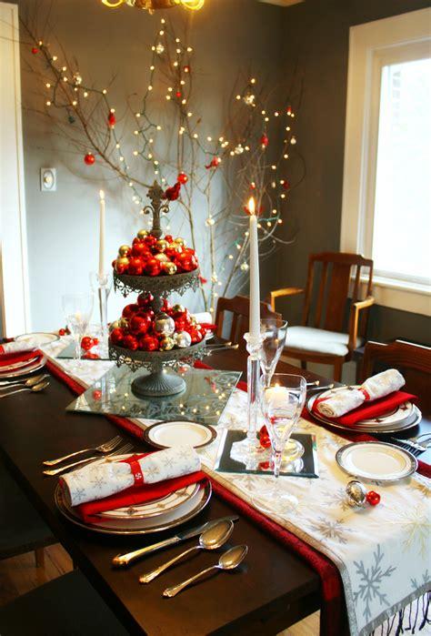 amazing christmas table decorations