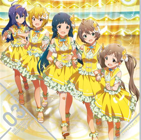 Letter Idolmaster The Idolmaster Million Theater Generation 03 Single
