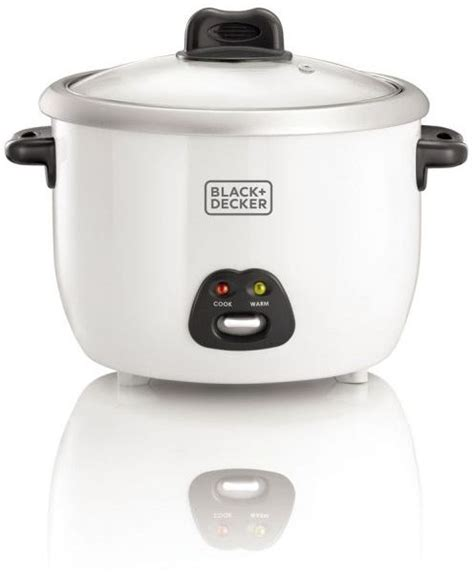 Black Decker Rice Cooker 1 8 souq black decker 1 8l non stick rice cooker white