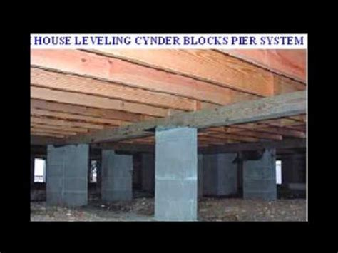 mobile homes concrete slab pier and beam foundation