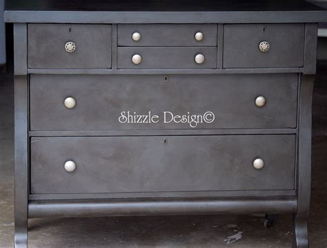 Leather Dresser by Shizzle Design Antique Empire Dresser With A Rich Weathered Black Leather Finish