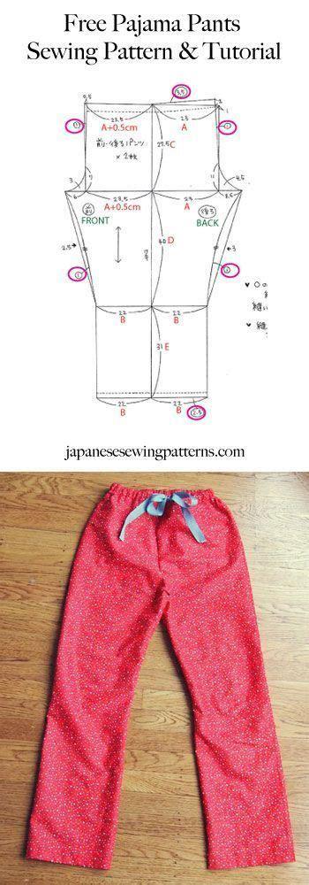 sewing pattern pajama pants free pyjama pajama pants sewing pattern adjust the size