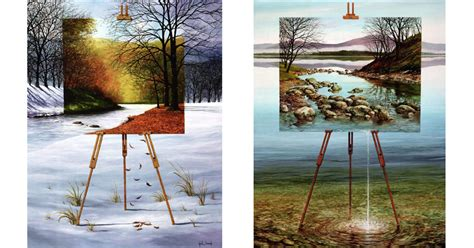 A Painting Within A Painting by Paintings Within Paintings By Neil 171 Twistedsifter