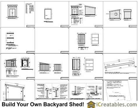 plans  build   shed shed plans