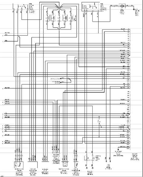 1998 Volvo S70 Wiring Diagram Component Identification