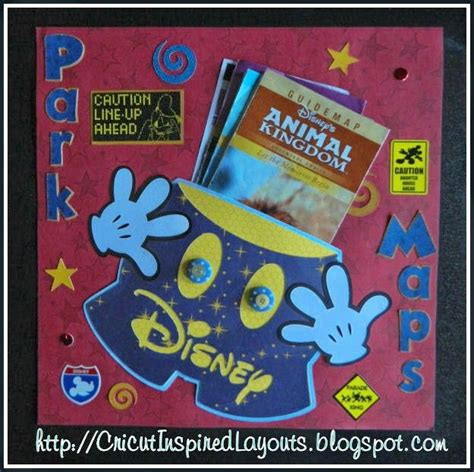 scrapbook layout holder cricut inspired scrapbook layouts mickey pants map holder