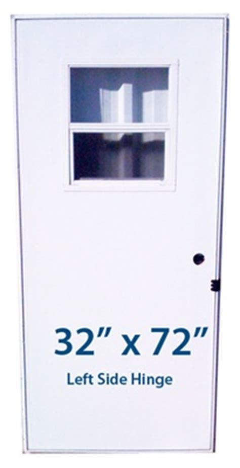 32 X 72 Exterior Door Mobile Home Slider Door 32x72 Lh Left Hinge Doors