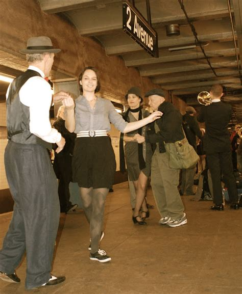 Nyc Nyc Vintage Nyc Subway Train Swing Dance Party 2011