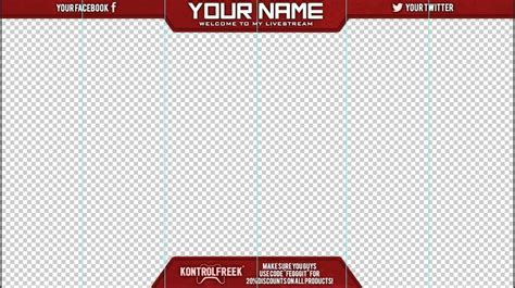 facecam border template related keywords facecam border