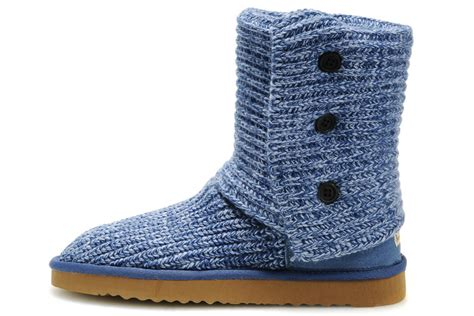 Ugg Classic Cardy Boots 5819 Grey Outlet Store Ugg Cardy Classic 5819 Blue Boots