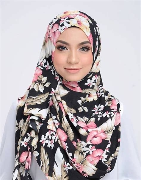 must floral shawls from tudung2u this