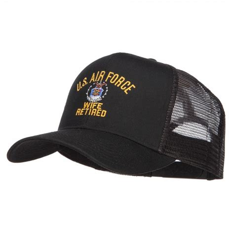 Us Air Forces Cap Black embroidered cap black us air mesh cap e4hats