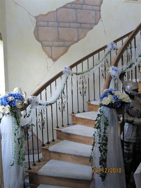 decoration for a banister 9 best images about staircase flowers on pinterest felt