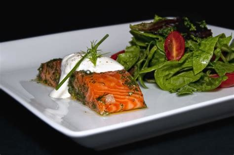 schwaben house schwaben house greenville zdjęcie salmon with salad tripadvisor
