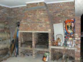 Sloped Ceiling Design Ideas Building My Own Braai Need Input On Chimney Design