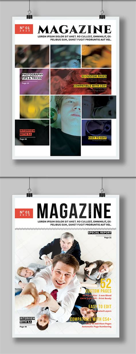 magazine templates for photoshop free 27 new photoshop free psd files for ui design freebies