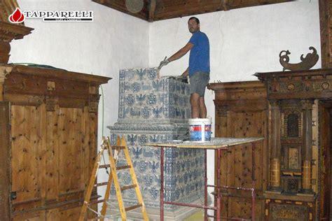 piastrelle thun tapparelli stufe e caminetti castel thun restauro
