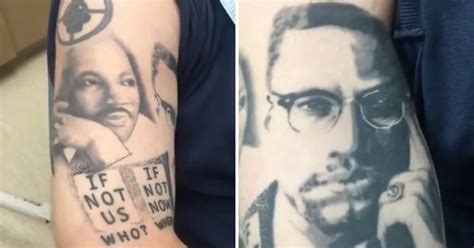 tattoo black history check out this dude s awesome black history tattoos tattoodo