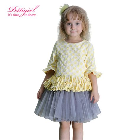 Girlset Kp Yellow Style aliexpress buy 2016 retail pettigirl fashion baby
