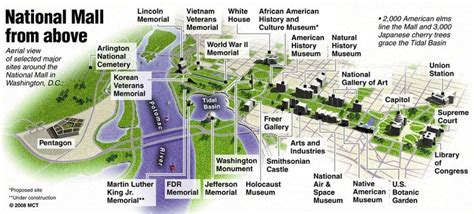 Layout Of Dc Mall   3d national mall aerial map favorite places pinterest