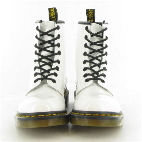 Dr Martens 8 Leather dr martens leather 1460 patent ler 8 eyelet boots in