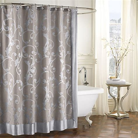 shower curtains bed bath beyond buy palais royale adelaide shower curtain from bed bath