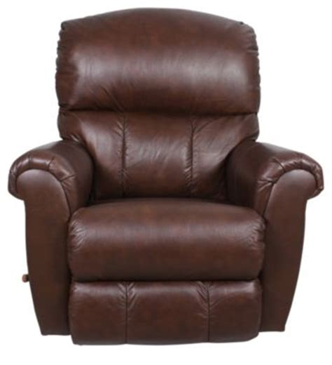 la z boy recliner leather la z boy briggs leather rocker recliner homemakers furniture