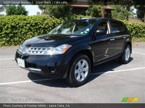 2006 Nissan Murano S by Black 2006 Nissan Murano S Cafe Latte Interior