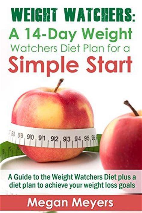 weight watcher simple start recipes weight watchers a 14 day weight watchers diet plan for a