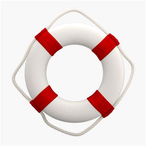 model boat life rings 3d decorative ring buoy