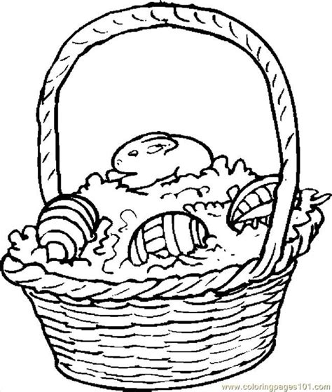 coloring pages of easter baskets easter baskets coloring pages az coloring pages