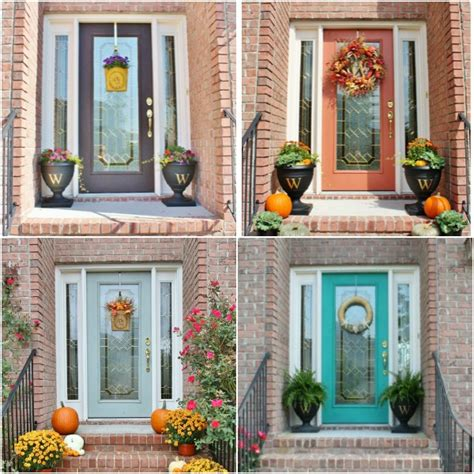 choosing front door color 4 easy ways to refresh your front door