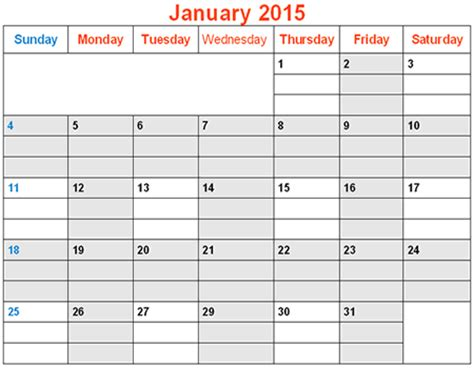 printable monthly calendar with lines 2015 january 2015 calendar with lines calendar template 2016