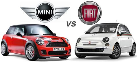 Fiat 500 Vs Mini Cooper To Mini Cooper Vs Fiat 500 Wvl