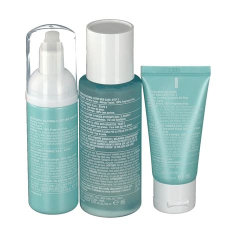 Set Clinique clinique anti blemish solutions 3 phasen systempflege set