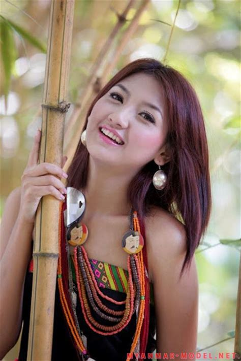 Lu Tas Make Up Lu m seng lu lovely kachin model dress up myanmar model photosmyanmar model photos