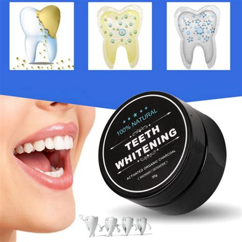 natural tooth whitening powder activated bamboo