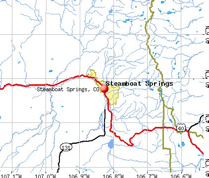 steamboat zip code map steamboat springs colorado co profile population maps