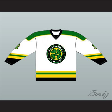 Goon M 62 L 50 Xl 44 36 ross the rhea st s shamrocks hockey jersey goon