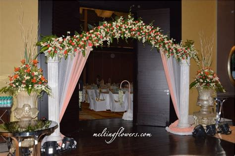 Wedding Aisle Entrance Ideas by Wedding Entrance Decorations Www Pixshark