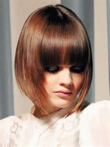 inverted bob hairstyles with fringe graduated bob with fringe hairstyles weekly