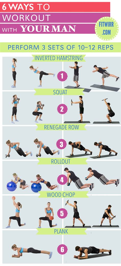 6 partner exercises to build the
